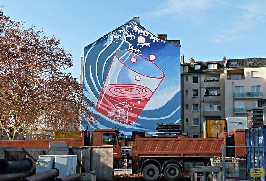 "2011 ""Konsumonsun"" Düsseldorf, Bachstr. 126"