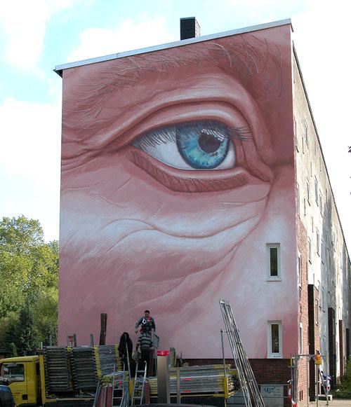 Das Auge, Hellweg 36, farbfieber, 1980