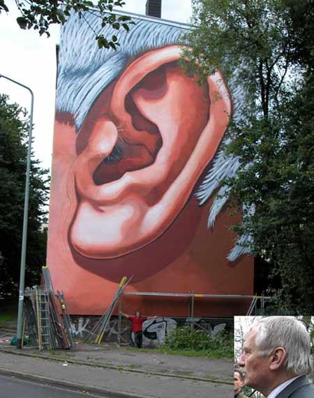 """Ottos Ohr"", Hellweg 23, Klaus Klinger, 2003"