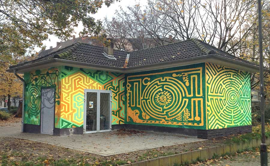 Gartenhaus Lessingplatz, Klaus Klinger, Tuha, 2014