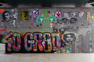 Streetart Wand