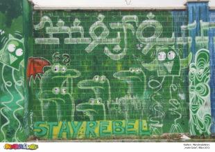 Kiefern Wandmalaktion - mehr grün